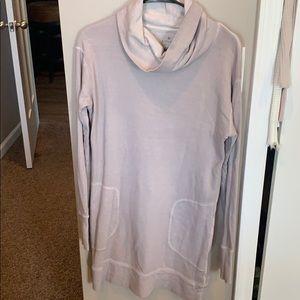 ATHLETA high neck sweater dress SIZE S